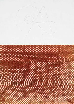 Pouncing in Red Ochre - Large