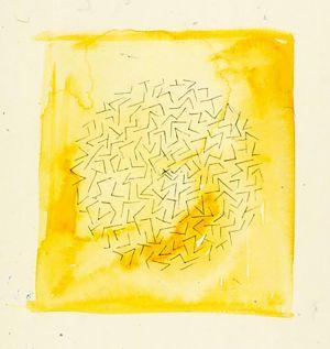 Circle in Yellow